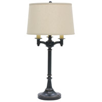 Lancaster 32 inch 150 watt Oil Rubbed Bronze Table Lamp Portable Light