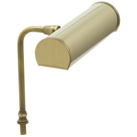 Advent 7 inch 1 watt Antique Brass Lectern Lamp Portable Light, Battery Operated