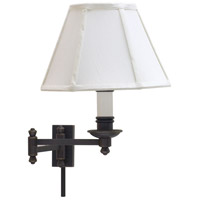 House of Troy Library 1 Light Swing-Arm Wall Lamp in Oil Rubbed Bronze LL660-OB