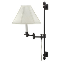 House of Troy Library 1 Light Swing-Arm Wall Lamp in Oil Rubbed Bronze LL662A-OB photo thumbnail