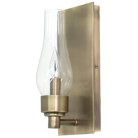 House of Troy Lake Shore 1 Light Wall Lamp in Antique Brass LS201-AB
