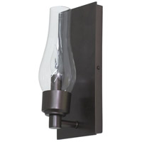 House of Troy Lake Shore 1 Light Wall Lamp in Mahogany Bronze LS201-MB