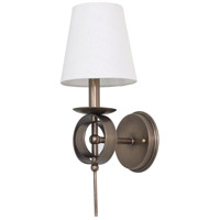 House of Troy Lake Shore 1 Light Wall Lamp in Antique Brass LS202-AB