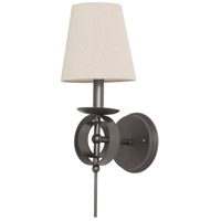 House of Troy Lake Shore 1 Light Wall Lamp in Mahogany Bronze LS202-MB