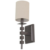 Lake Shore 1 Light 6 inch Mahogany Bronze Wall Lamp Wall Light