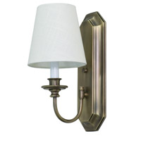 House of Troy Lake Shore 1 Light Wall Lamp in Antique Brass LS208-AB photo thumbnail