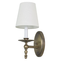 House of Troy Lake Shore 1 Light Wall Lamp in Antique Brass LS213-AB photo thumbnail