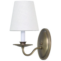 House of Troy Lake Shore 1 Light Wall Lamp in Antique Brass LS217-AB