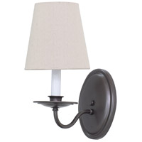 Lake Shore 1 Light 5 inch Mahogany Bronze Wall Lamp Wall Light