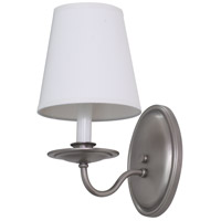 House of Troy Lake Shore 1 Light Wall Lamp in Satin Pewter LS217-SP