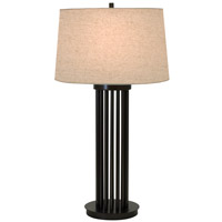 House of Troy Lake Shore 1 Light Table Lamp in Oil Rubbed Bronze LS650-OB photo thumbnail