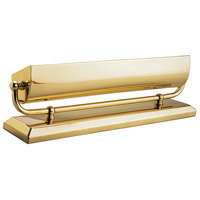 House of Troy Classic Traditional 2 Light Mantel Light in Polished Brass MA14-B