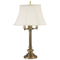 House of Troy N650-AB Newport 30 inch 150 watt Antique Brass Table Lamp Portable Light photo thumbnail