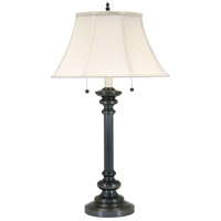 House of Troy Newport 2 Light Table Lamp in Oil Rubbed Bronze N651-OB photo thumbnail