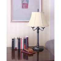 House of Troy Newport 1 Light Table Lamp in Oil Rubbed Bronze N653-OB