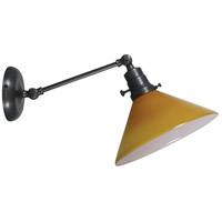 Otis 1 Light Oil Rubbed Bronze Wall Lamp Wall Light, Direct Wire Only