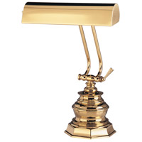 House of Troy Piano or Desk 1 Light Desk Lamp in Polished Brass P10-111