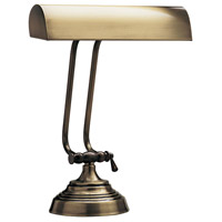 House of Troy Piano or Desk 1 Light Desk Lamp in Antique Brass P10-131-71