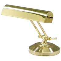 House of Troy Piano and Desk 1 Light Piano Lamp in Polished Brass P10-150