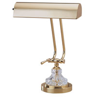 House of Troy Piano/Desk Lamp Polished Brass Table Lamps P10-163 photo thumbnail