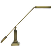 Grand Piano 26 inch 13 watt Antique Brass Piano Lamp Portable Light in Square