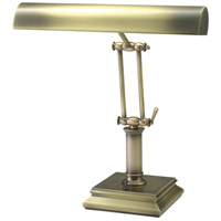 Piano and Desk 14 inch 60 watt Antique Brass Piano Lamp Portable Light in Square