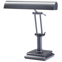 Piano and Desk 14 inch 60 watt Granite Piano Lamp Portable Light in Square