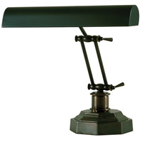 Piano and Desk 13 inch 60 watt Mahogany Bronze Piano Lamp Portable Light in 12.5, Octagon