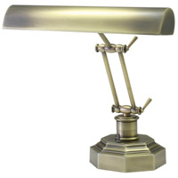 House of Troy P14-203-AB Piano and Desk 13 inch 60 watt Antique Brass Piano Lamp Portable Light in 12.5, Octagon photo thumbnail