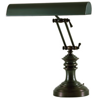 House of Troy Piano or Desk 2 Light Desk Lamp in Mahogany Bronze P14-204-81