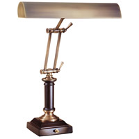 House of Troy Piano or Desk 2 Light Desk Lamp in Antique Brass P14-233-C71