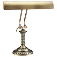 House of Troy P14-242-71 Piano and Desk 16 inch 60 watt Antique Brass Piano Lamp Portable Light in Round