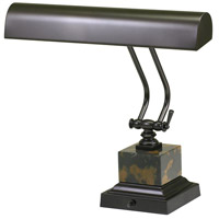 House of Troy P14-280 Piano and Desk 12 inch 60 watt Mahogany Bronze Piano Lamp Portable Light in Square photo thumbnail