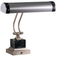 Steamer 13 inch 60 watt Satin Nickel/Black Piano/Desk Lamp Portable Light