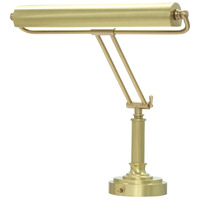 House of Troy Piano or Desk 2 Light Desk Lamp in Satin Brass P15-80-51