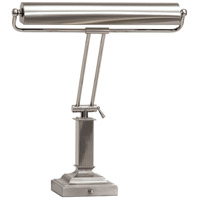 House of Troy Piano or Desk 2 Light Desk Lamp in Satin Nickel P15-81-5262