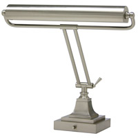 House of Troy Piano or Desk 2 Light Desk Lamp in Satin Nickel P15-83-52