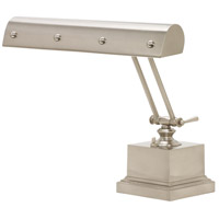 House of Troy PB14-202-SN/PN Signature 12 inch 60 watt Satin Nickel w/Polished Nickel Accents Desk Piano Lamp Portable Light in Satin Nickel with Polished Nickel Accents photo thumbnail