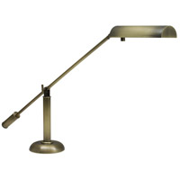 House of Troy PH10-195-AB Grand Piano 21 inch 50 watt Antique Brass Piano Lamp Portable Light