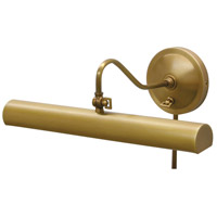 Library 120 watt 16 inch Weathered Brass Library Picture Lamp Wall Light