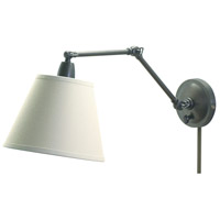 Library 17 inch 100 watt Oil Rubbed Bronze Library Wall Lamp Wall Light