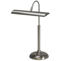 Zenith 14 inch 4.5 watt Satin Nickel Piano/Desk Lamp Portable Light