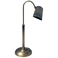 Zenith 14 inch 4.5 watt Antique Brass Piano/Desk Lamp Portable Light