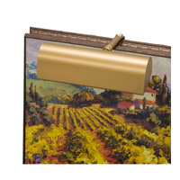 House Of Troy Classic Traditional 1 Light Battery Powered Picture Light in Gold  RT8-1 photo thumbnail