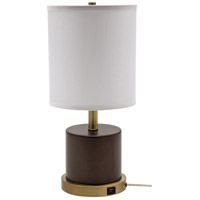 House of Troy RU752-CHB Rupert 20 inch 100 watt Chestnut Bronze with Weathered Brass Table Lamp Portable Light photo thumbnail