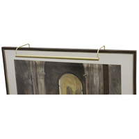 House of Troy SL21-51 Slim-line 60 watt 21 inch Satin Brass Picture Light Wall Light photo thumbnail