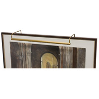 House of Troy Slim-line 6 Light Picture Light in Weathered Brass SL30-76