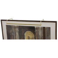 Slim-line 120 watt 40 inch Satin Brass Picture Light Wall Light