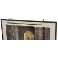 House of Troy Slim-line 8 Light Picture Light in Antique Brass SL40-71