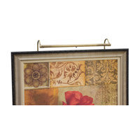 House of Troy Slim-line Antique Brass Picture Lights SLED20-71 photo thumbnail